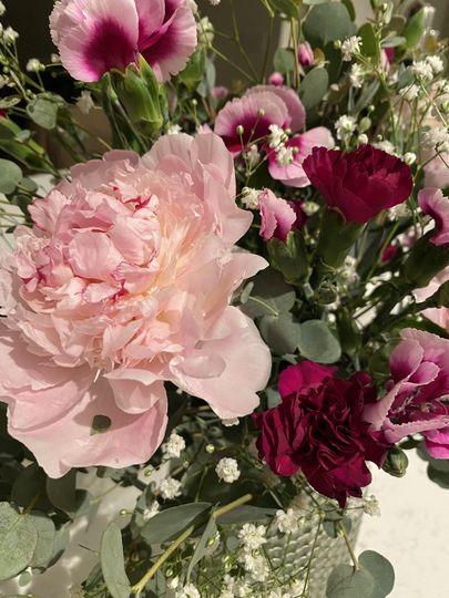 Peony & carnations