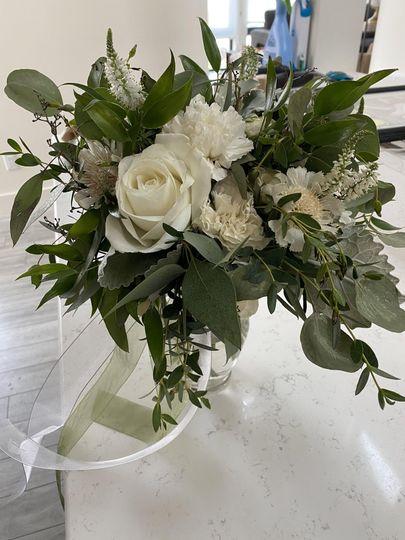 Classic white bridal