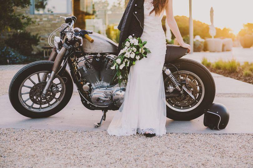 cafe racer wedding 134