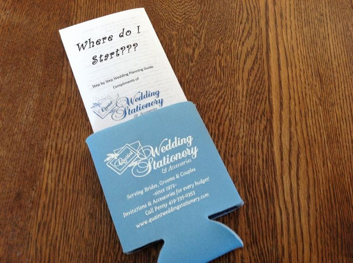 Quaint Wedding Stationery & Accessories - Invitations - Wauseon, OH ...