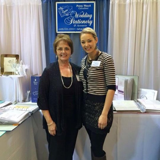 Look for us at the annual Sauder Bridal Show!