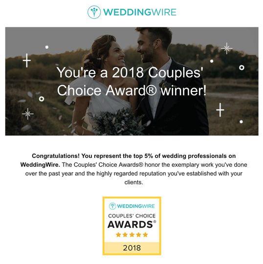 2018 Award Winner!