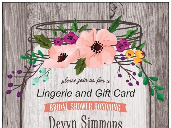 Tmx 1504183059846 Devyn Shower Invitevp Wauseon, OH wedding invitation