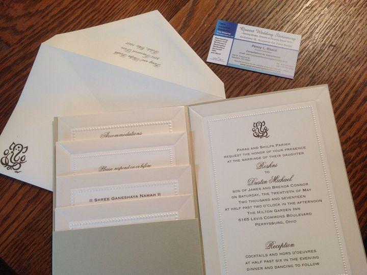 Tmx 1531752102 5723e44176491340 1531752100 B13374f8f638fc41 1531752067714 4 Image Wauseon, OH wedding invitation