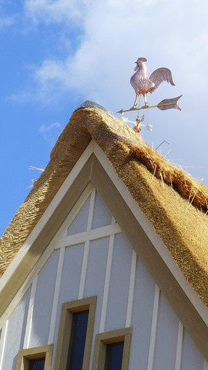 thatch rooster