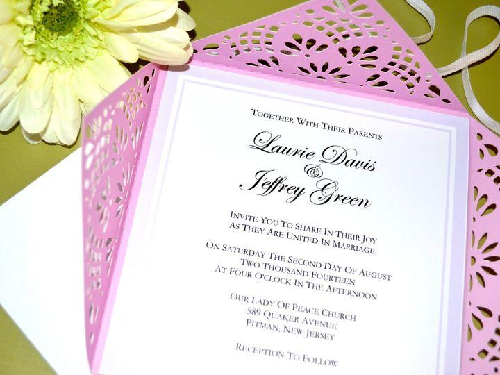 Tmx 1404918715082 Dsc0186 3 Pitman wedding invitation