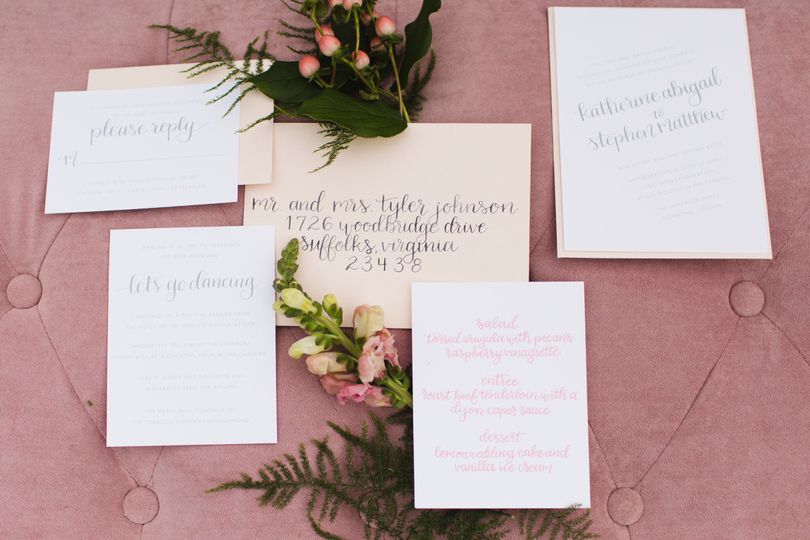 invitations and calligraphy 0153