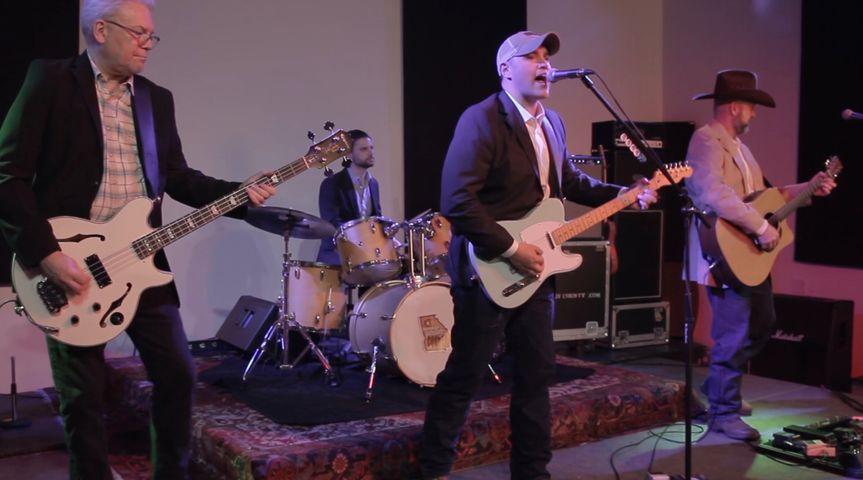 Performing at a wedding