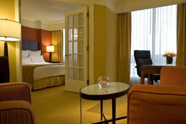 All of our suites include a living room with large work desk, high-speed Internet access, wet bar,...