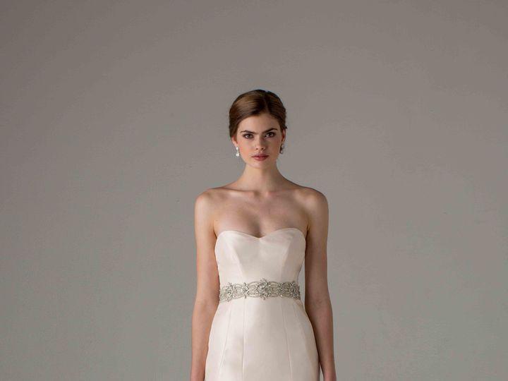 Tmx 1428430739551 Vendome 2 Bedford wedding dress