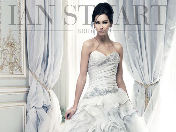 Tmx 1439493978021 Pracatan Pale Blue Bedford wedding dress