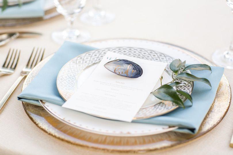 Blue blue linen