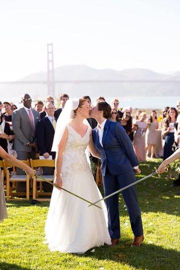 My own wedding to my wife