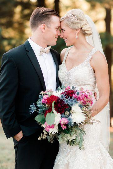 Portrait of the happy couple - Kelly Laramore Photography