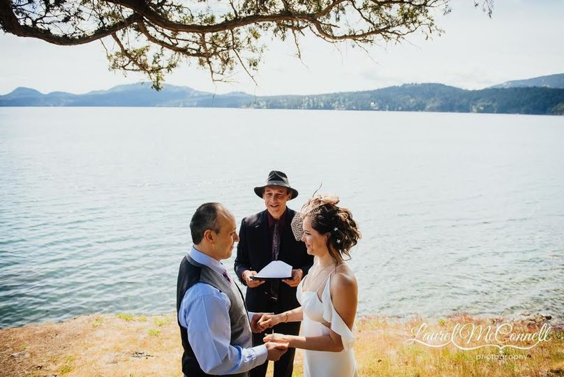 Outdoor Wedding, Orcas Island