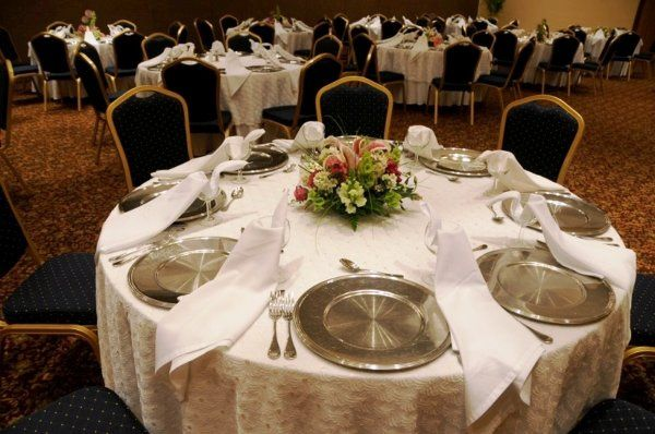 Crown Paradise Club All-inclusive Resort  Wedding table setting