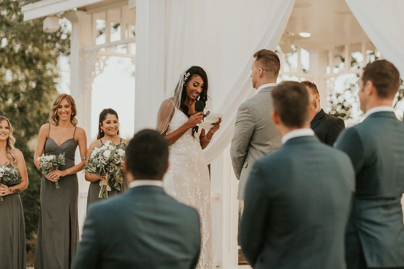 Wedding at Lindsay Grove