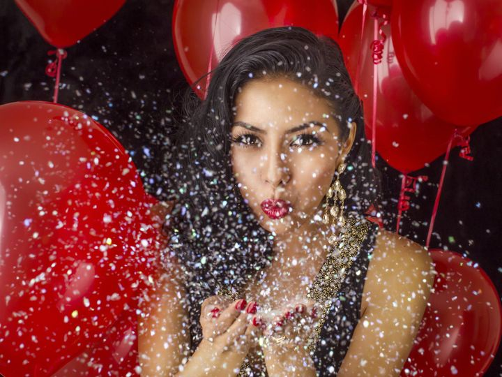 Tmx 1451441712334 Red Balloons  Glitter Party Denver wedding eventproduction