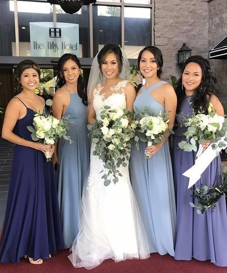 Bridal Party in the Lobby