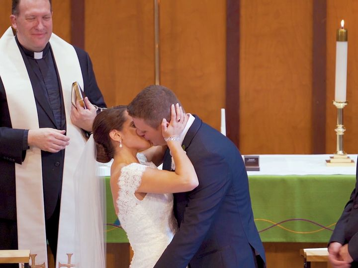 Tmx Maggie And Steve Wedding Kiss 51 1017545 158610542647496 Somerville, MA wedding videography