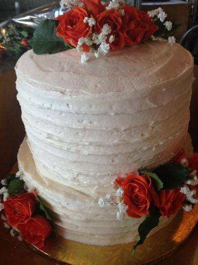 2-tier cake