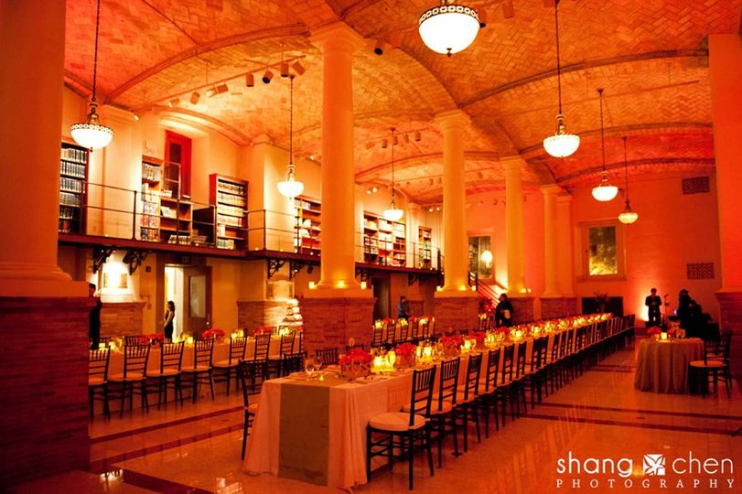 Boston Public Library Wedding.The Catered Affair At The Boston Public Library Venue