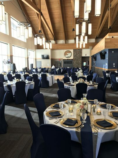 Main chalet and event center
