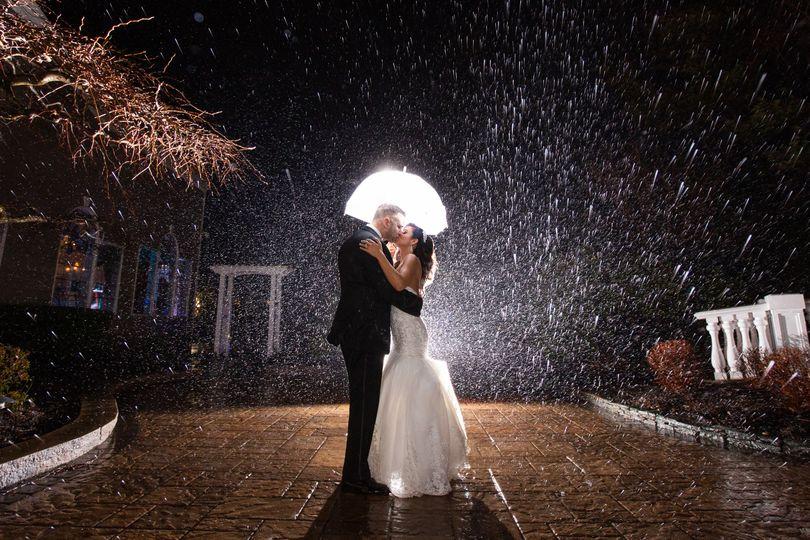 Fall in love in rain