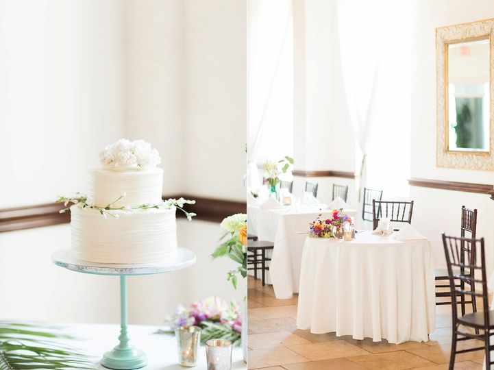Gorgeous wedding setup