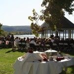 Your guests will have spectacular views as they await your arrival for the ceremony!