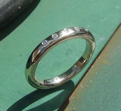 Tmx 1251379114156 6stoneweddingring Brooklyn, NY wedding jewelry