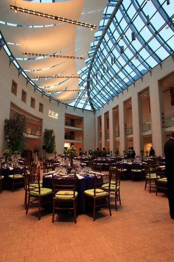 The Atrium at the Peabody Essex Museum