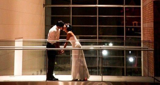 Photo on museum Atrium bridge