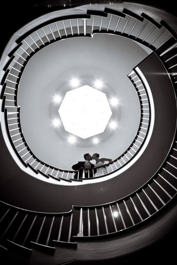 Peabody Essex Museum's spiral staircase