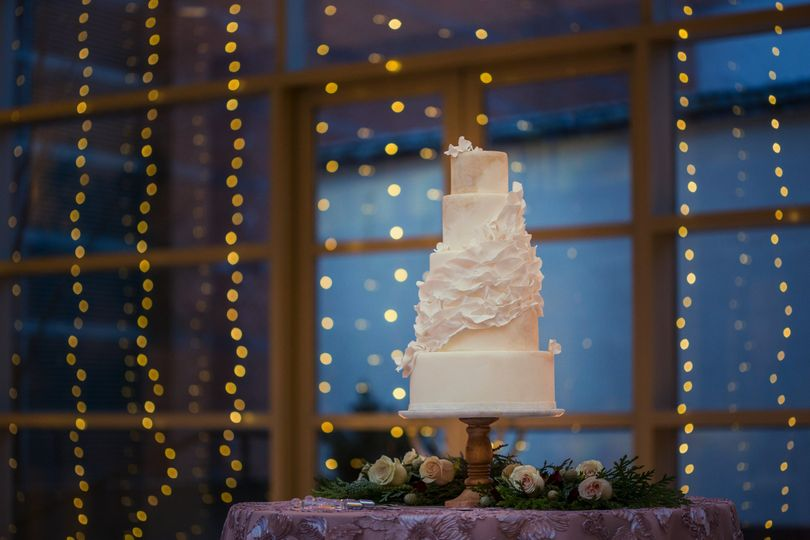 Cake with a little sparkle!