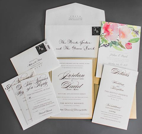 Tmx 1468531410297 02 Refined San Francisco Wedding Clane Gessel Phot Philadelphia, PA wedding invitation