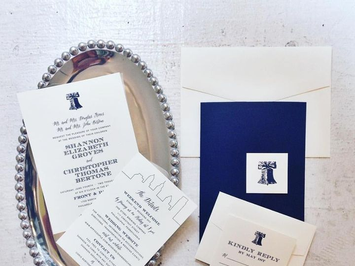 Tmx 1468531423528 Groveinvitation Philadelphia, PA wedding invitation
