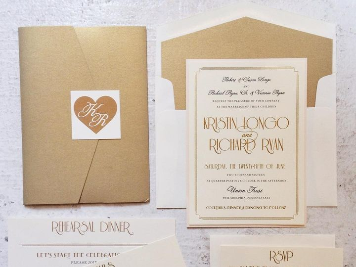 Tmx 1468532082375 135616126713337196865611089155510n1 Philadelphia, PA wedding invitation