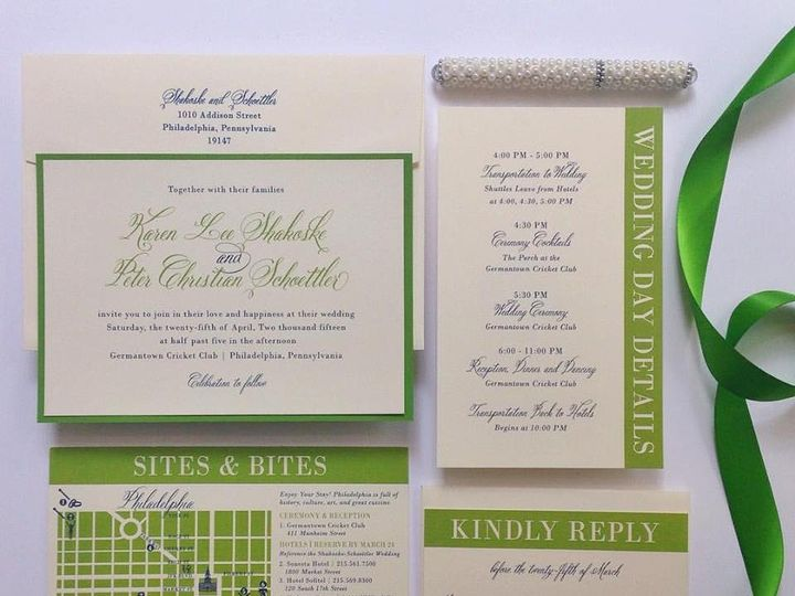 Tmx 1468532167153 Philly Suite Philadelphia, PA wedding invitation