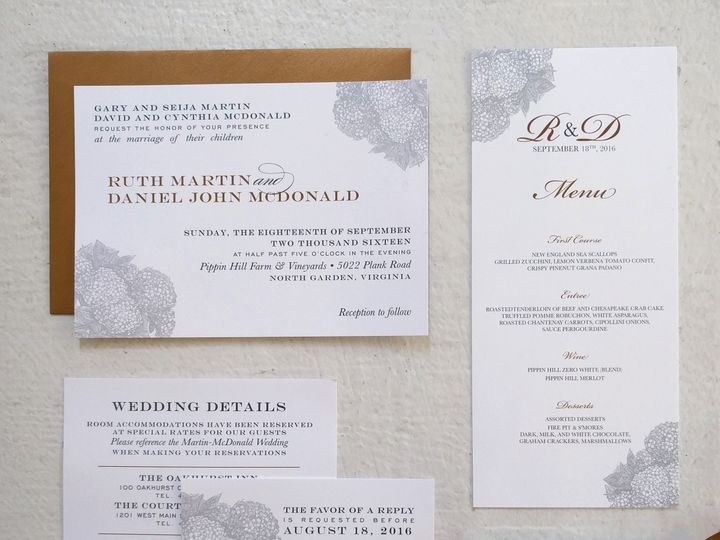 Tmx 1483643601565 Ruthinvitation Philadelphia, PA wedding invitation