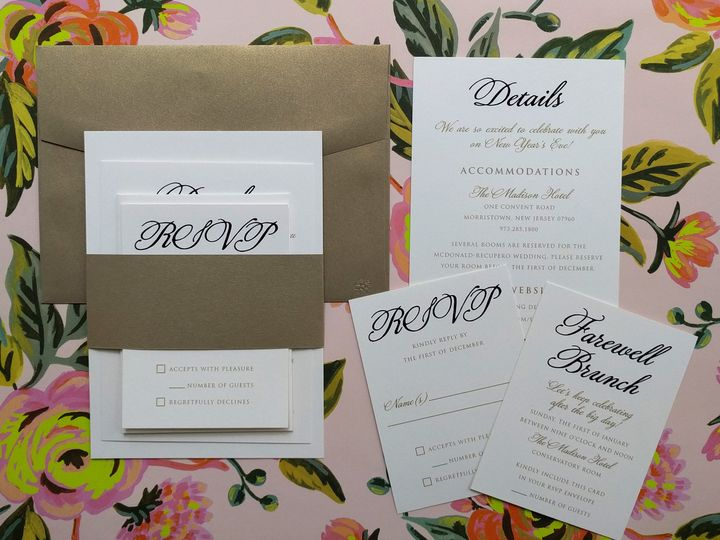 Tmx 1483643606743 Mcdonnaldinvitatoin Philadelphia, PA wedding invitation