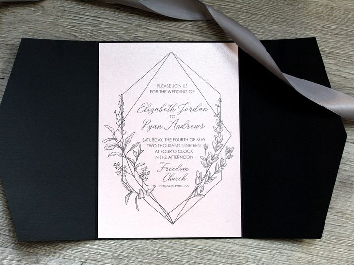 Tmx Jordan Invitation Pic 51 372645 1566943270 Philadelphia, PA wedding invitation
