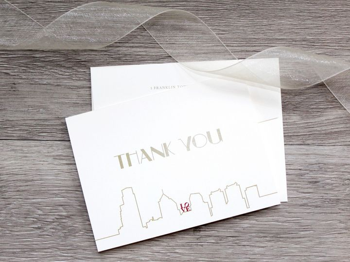 Tmx Kozul Thank You Note Pic 51 372645 1566943269 Philadelphia, PA wedding invitation