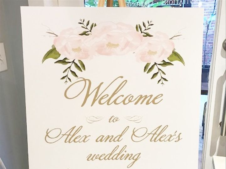 Tmx Large Foamcore Wedding Sign Copy 51 372645 1561753362 Philadelphia, PA wedding invitation