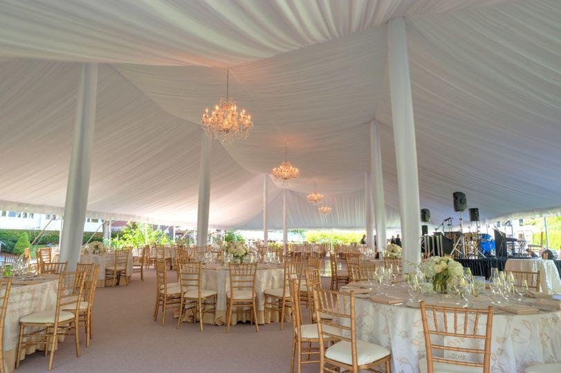 Elegant tent design
