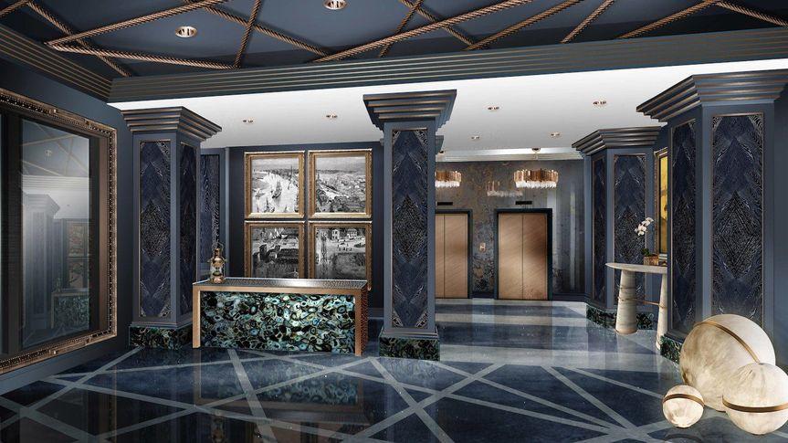 Atlantic Hotel Lobby