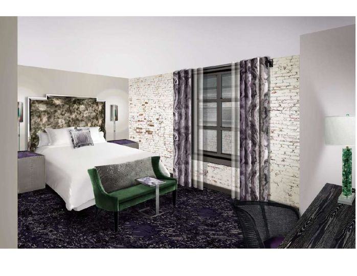 Power Plant Hotel Guestroom