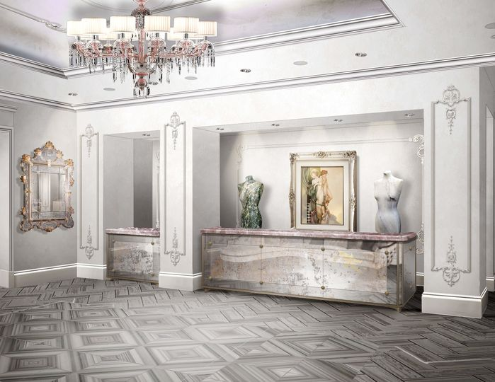 Three Muses Hotel Lobby
