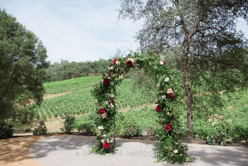 Vineyard View Ceremony Site