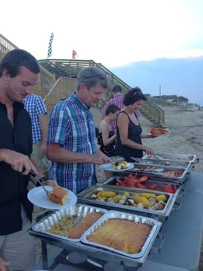 Outer Banks Clam Bakes - special event